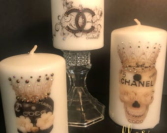 Coco Chanel Inspired Candle Set
