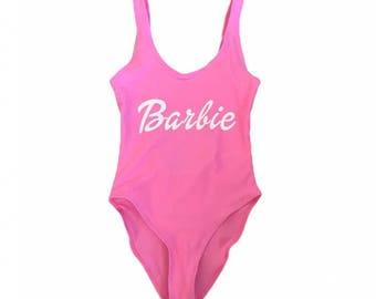 Barbie- one piece swim suit/ bathing suit / swimwear/