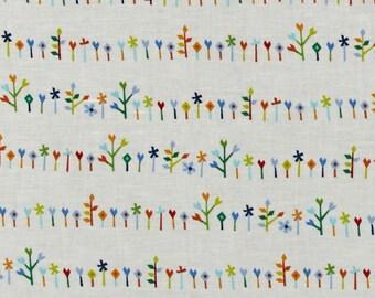 Floret Fabric  Origami Oasis