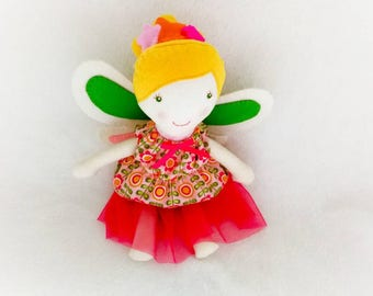 Fairy cloth doll - soft toy - rag doll