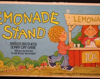 Lemonade Stand 1979 Board Game