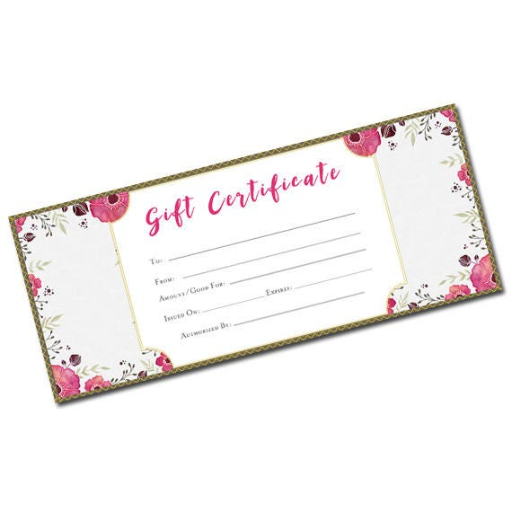Beautiful gift certificate flower pattern blank gift certificate beautiful gift certificate flower pattern blank gift certificate gift certificate template printable blank gift certificate garden yadclub Image collections