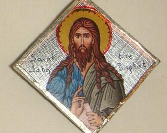 St John the Baptist Pendant inv1651