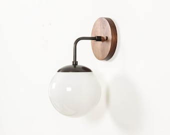 Wall Sconce, Mid Century Modern Lighting, UL Listed- Carolina Sconce