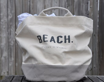 Wedding beach bag destination wedding tote bag bridesmaid gift wedding favors personalized tote wedding favor wedding party gifts canvas