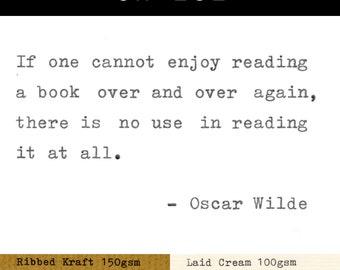 Real Typewriter – Oscar Wilde Quotes – Part 6