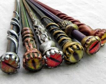 Dragon Eyed Hair Sticks