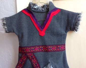 Child Kristoff Costume-Tunic only