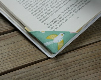 2 corner bookmarks - Birds
