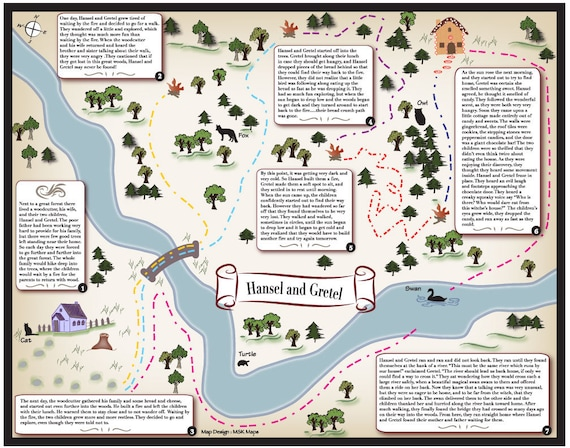 Hansel and gretel fairy tale map publicscrutiny Image collections
