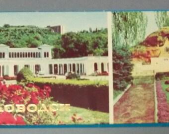 Set of 12 postcards Soviet vintage, Postcards of the Soviet vintage, 1970s Kislovodsk