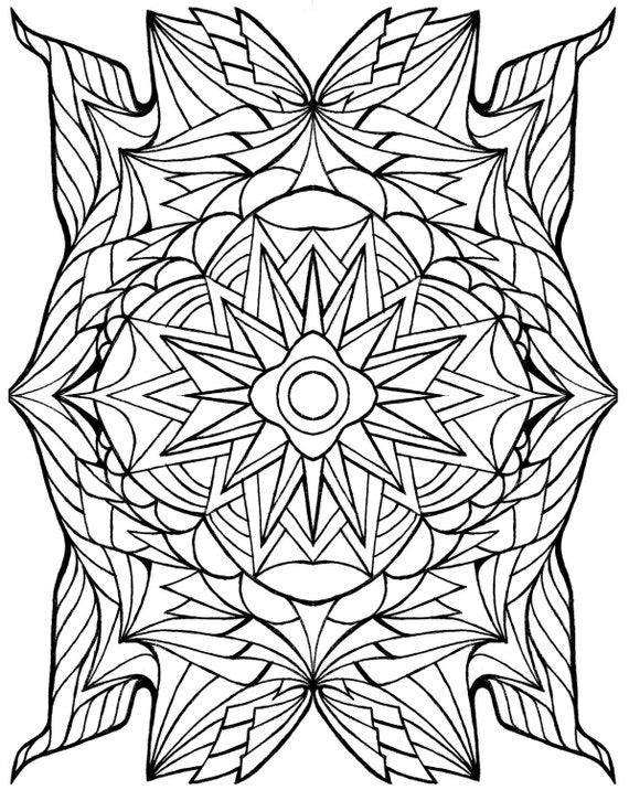 coloring pages Crest