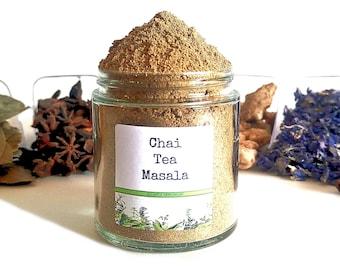 Chai Tea Masala/Masala Chai/Tea Favors/Tea Party/High Tea/Spice Rack/Food Gift/Gifts For Foodies/Wedding Favors/Foodie Gift/Cooking Gift
