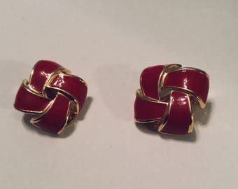 Classic Bow Knot Ear Clips
