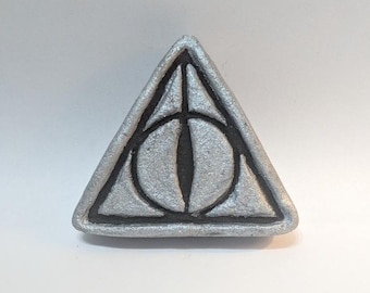 Harry potter deathly hallows inspired bath bomb