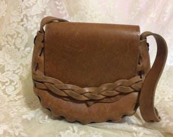 Nice Boho Leather Handbag