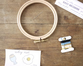 Oeuf - Kit  EASY BRODERIE