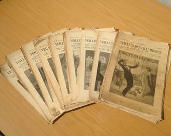 Old magazine Firesides cottages 106 numbers 57 year 1933 1934