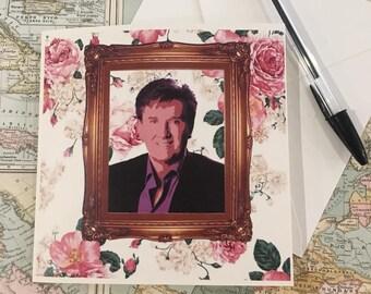 Daniel O'Donnell Blank Card