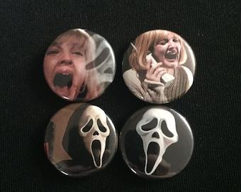 """Scream 1"""" Button"""