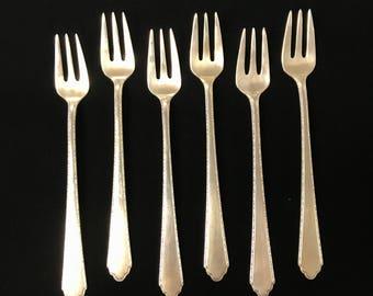 Sterling Silver Fork Set