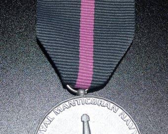 TRMN Dress Medal -B- Navy Pistol Sharpshooter