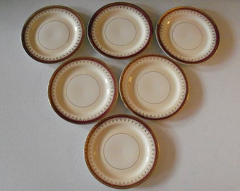 Homer Laughlin Pattern HLC3917 Six Bread & Butter Plates