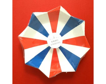 Fourth of July Party Decorations. Meri Meri Fourth of July. Red White and Blue Party Decorations. Patriotic Party Decorations. USA. America