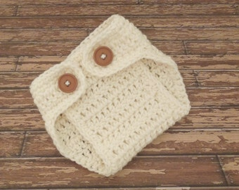 Baby Diaper Cover,  YOU CHOOSE COLOR Baby Boy, Baby Girl Crochet Diaper Cover Newborn Photo Prop Knit Diaper Cover