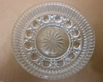 "Mint Vintage Indiana Windsor / Royal Brighton C 5 1/2"""" Crystal Berry Bowl"