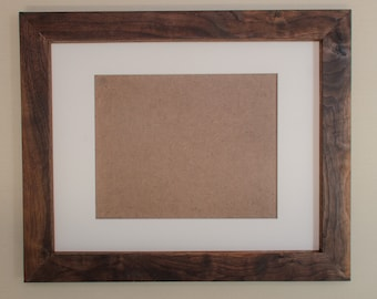 Handmade Picture Frame - Includes a Mat