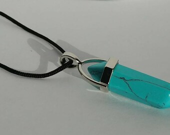 Handcrafted Turquoise Pendant Necklace