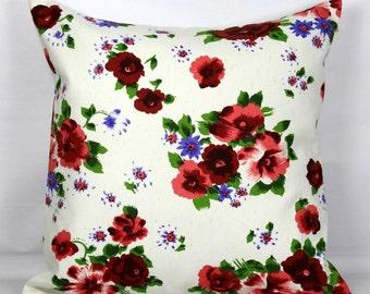 Floral pillow floral pillow case floral pillow cover 20x20 pillow cover 18x18 pillow cover decorative throw pillows sofa pillow covers 16x16