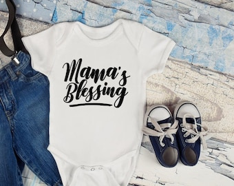 Mamas blessings , baby grow, baby shower gift,