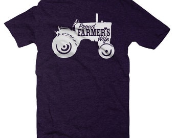 Farmer Wife, Farmer Wife Shirt, Farm Wife, Farmer Shirt, Farm Wife Shirt, Farm Life, Tractor Shirt, Wife Shirt, Farm Wife Tee
