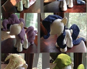 Mane and Tail Pattern Sets (Plushie, Stuffed Toy, digital PDF)