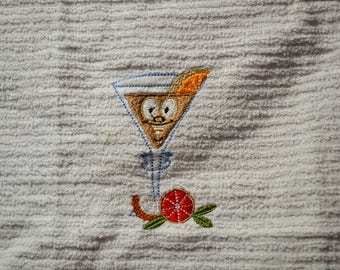 Happy Hour Hand Towels