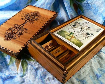 Tarot Storage and Runes in a Box