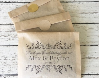 Wedding Coffee Favor Bag Kit - Set of 24  | Coffee Favor Bag | Wedding Coffee Favors | Coffee Favor Kit |Thank You Favors