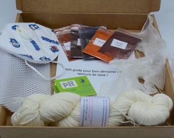 Box dyeing wool Sock