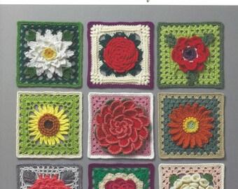 Crochet 3D Flower Pattern Collection Japanese Craft Book BK328