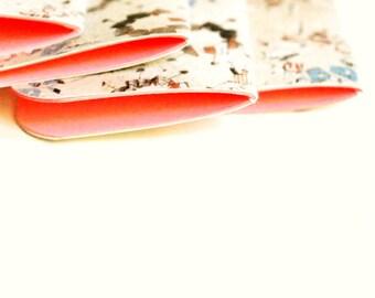 Mini Blank Books {3}   Pink Mini Notebooks   Teacher Gifts   Mini Notebooks  Mini Journals   Gift under 10   Paper Lover Gift