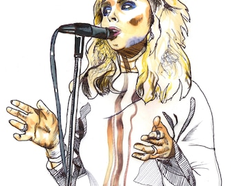 Debbie Harry Blondie Poster