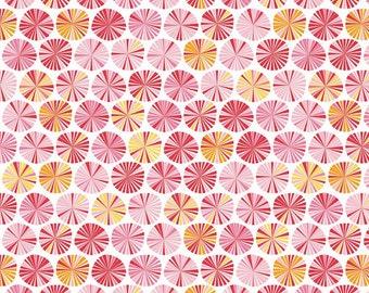 Pink Pinwheel Quilt Fabric, Riley Blake Fabric, Fancy Free C4062 Pinwheels Pink, Baby Girl Quilt Fabric, Cotton Fabric for Girls