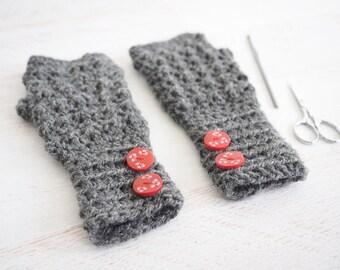 Aligned Cobble Fingerless Gloves   Crochet Pattern    Crochet Fingerless Gloves   Crochet Fingerless Mittens   Hand Warmers   Wrist Warmer