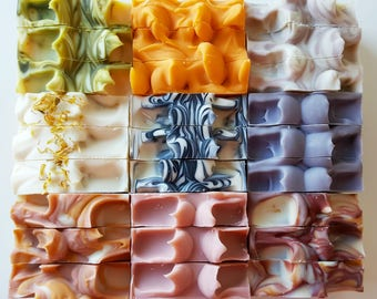 Nature Saponified Luxury Irish **SOAP SAVER** any 4 full size bars for 27.50 euro