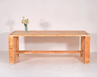 Garden table made of recycled timber | Merlot