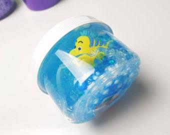 The Little mermaid clear slime