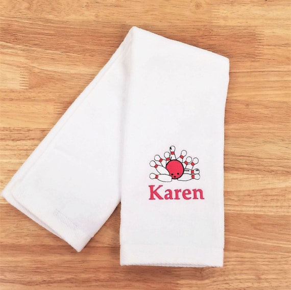 Sports Towel Bowling Towel Personalized Monogrammed Gift