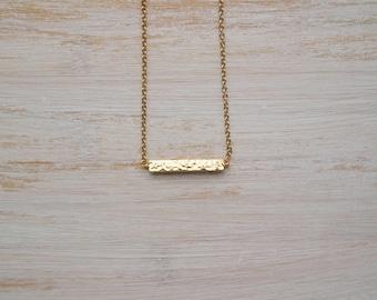 Hammered bar choker, gold bar choker, cubic bar choker, dainty gold choker, gold plated bar choker,gold choker,dainty choker necklace